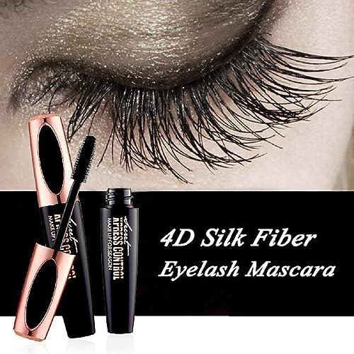 6bf2f3508fa Vivi Do 4D Silk Fiber Eyelash Mascara-Eyelashes Lengthening and Thick, Long  Lasting for