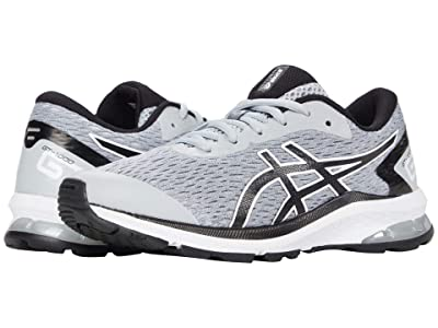 ASICS Kids GT-1000 9 (Little Kid/Big Kid) (Piedmont Grey/Black) Boys Shoes