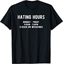Best hating hours shirt Reviews