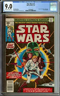 STAR WARS #1 CGC 9.0 OW/WH PAGES