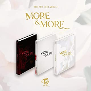 Twice More and More 9th Mini Album (Incl. Pre-Order Benefits : Poster, Photocard Set, Seller Gift : One Random Acrylic Photocard)
