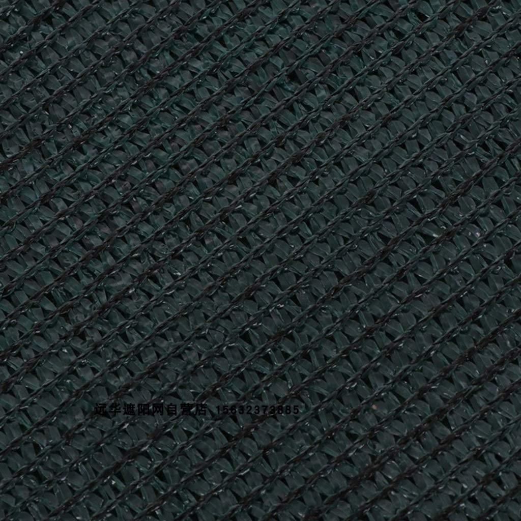 Malla Sombreadora malla sombreo Lona de malla de punto negro resistente con ojales, 80% de cubiertas de sombra for la cubierta de la planta Pérgola de la piscina de la perrera de