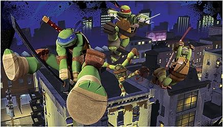 RoomMates Teenage Mutant Ninja Turtles Cityscape Chair Rail ...