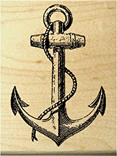 P23 Anchor rubber stamp
