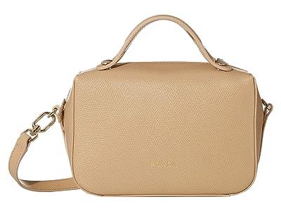 Furla Piper Mini Crossbody (Sand) Handbags