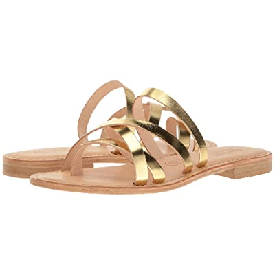 Summit by White Mountain Edlyn (Gold Metallic Leather) Women