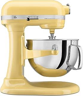 KitchenAid KP26M1XMY 6 Qt. Professional 600 Series Bowl-Lift Stand Mixer - Majestic Yellow