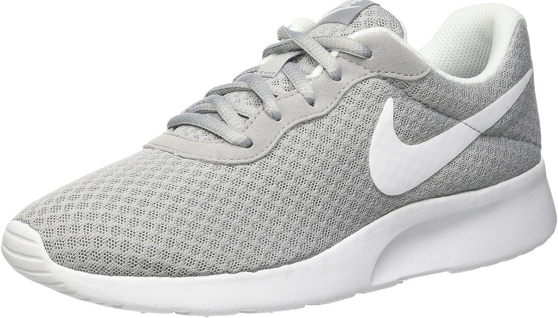 Nike Damen Damen WMNS Tanjun Laufschuhe, Grau (Wolfgrau Weiß), 35.5 EU  billige Verkaufsstelle online
