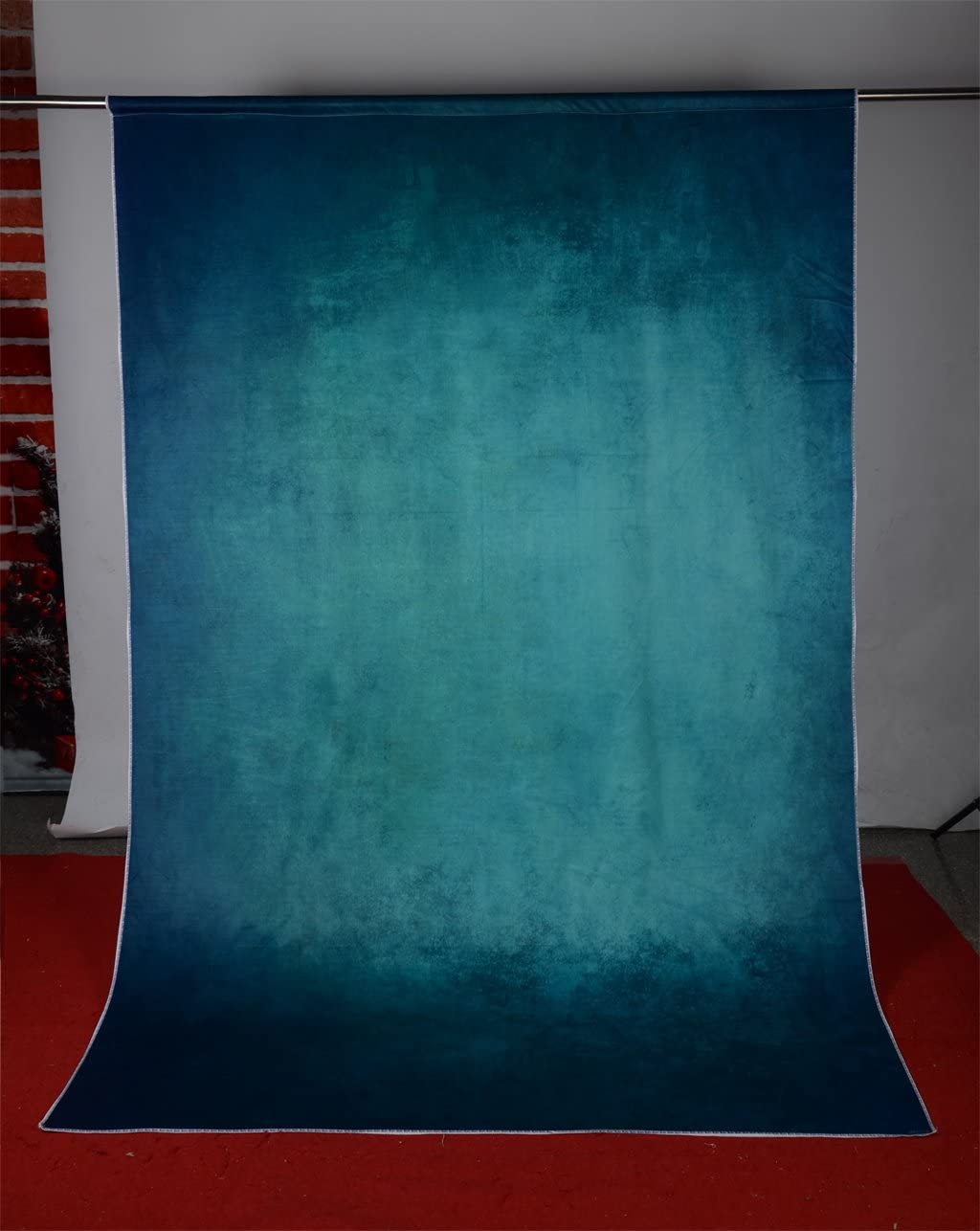 Kate 5x7ft Green Backdrop for Photographers Green Old Master Backdrops Retro Backgrounds