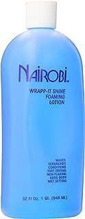Nairobi Wrapp It Shine Foaming Lotion, 32.0 Fluid Ounce