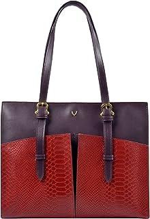 Hidesign Women's Handbag(SNAKE MEL RAN RED AUB)