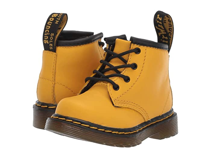 Dr. Martens Kids Collection  1460 Delaney Boot (Toddler) (Yellow Romario) Kids Shoes
