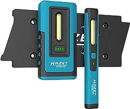 HAZET LED inspectielampenset (Pocket Pen Light inclusief laadpad voor twee lampen) 1979NW/3, zwart-blauw