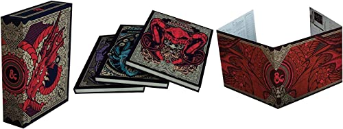 cómodamente Dungeons & Dragons Core Rulebooks Gift Set Hobby Store Store Store Exclusive  Player's Handbook, Dungeon Master's Guide, Monster Man  venta caliente en línea