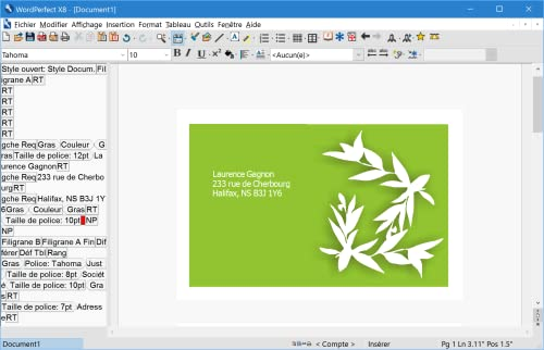 WordPerfect Office X8 Édition professionnelle - version mise à jour [Téléchargement]