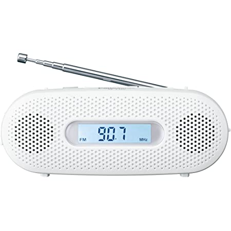 パナソニック FM-AM 2バンドレシーバー ホワイト RF-TJ20-W