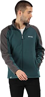 Regatta Great Outdoors Mens Hedman II Two Tone Full Zip Fleece Jacket