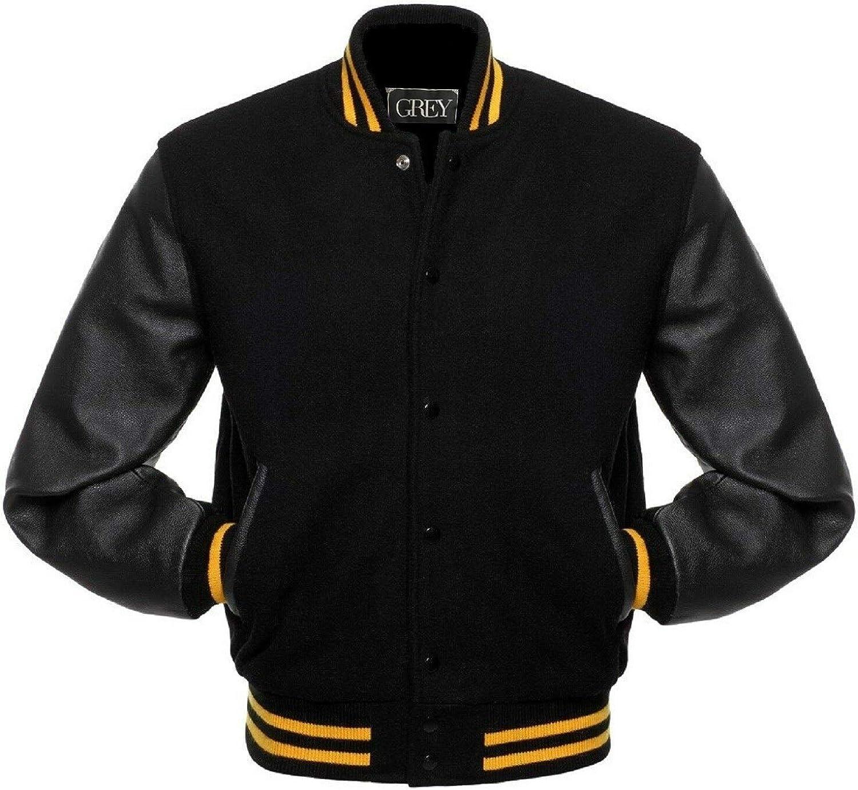 Varsity Jacket   Baseball   Letterman   Leather & Wool Jacket   College Jacket   Bomber Jacket   (M, BWYS)