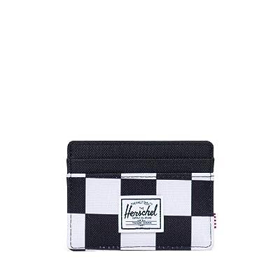 Herschel Supply Co. Charlie RFID (Checker Black/White/Black) Wallet Handbags