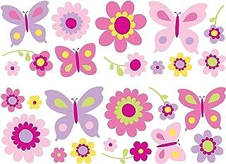 Best wall stickers flowers butterflies Reviews