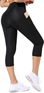 CROSS1946 Pantaloni Yoga da Donna Elastici Collant Leggings Sportivi