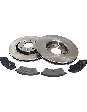 Kit 2 dischi freno posteriori Kit 4 pastiglie freno posteriori Ecommerceparts 9145375111607
