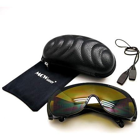 MCWlaser Gafas Protectoras de Seguridad con láser Gafas para ...