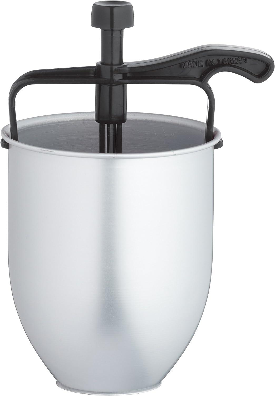 Kitchen Craft Dispensador para Hacer Rosquillas Manual, Acero, Blanco, 11.2x11.2x18.8 cm