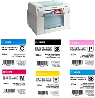 Fujifilm Frontier-S DX100 Inkjet Photo Printer - with Ink Bundle Consists of Fuji DX VIVIDIA Ink Cartridge 200 ML Black/Cy...