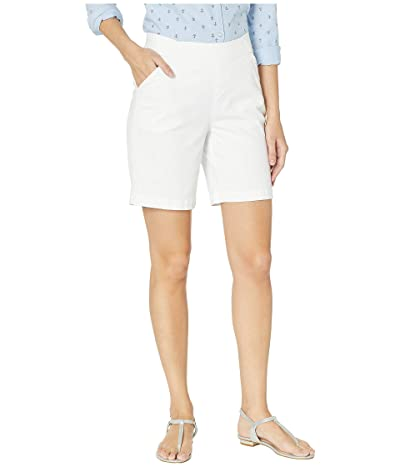 Jag Jeans 8 Gracie Pull-On Shorts in Twill (White) Women