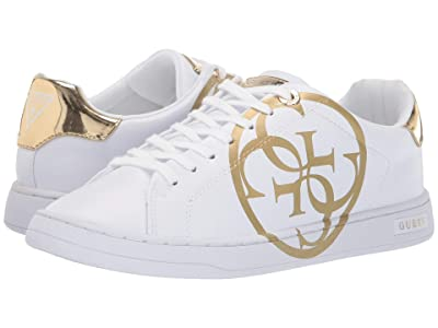 GUESS Cambry (White/Oro) Women