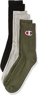 Champion Men's C Logo Crew Socks (3 Pairs)
