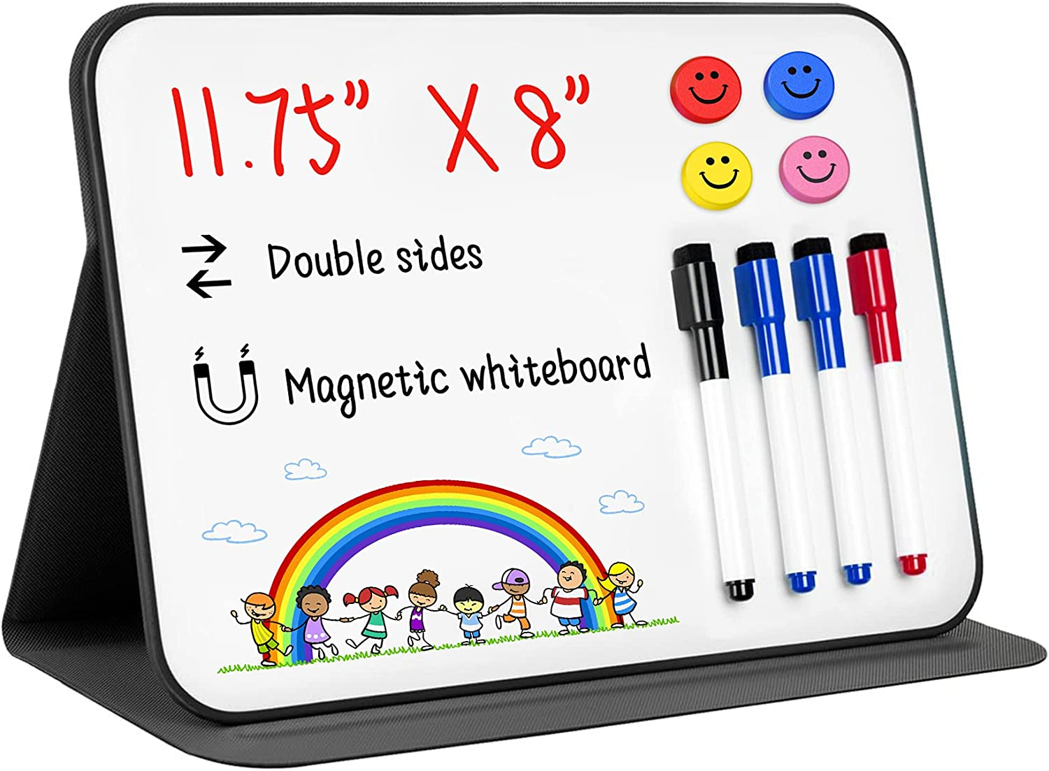 Max 72% OFF Small Dry Erase White Board It is very popular 11.75×8inch Magnetic Desktop Whi