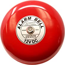Fire Alarm Bell, 12 Vdc, 6