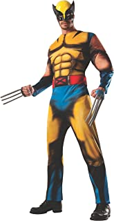 Adult Deluxe Wolverine Fancy Dress Costume Standard
