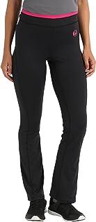 Advanced Pantalones de deporte y ocio, tejido muy elástico y agradable para la piel, transpirable y de secado rápido, cintura ajustable en contraste, Mujer