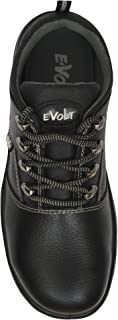 E-Volt Leopard Low-Cut Safety Shoe with Steel Toe Cap Size 7 UK/India