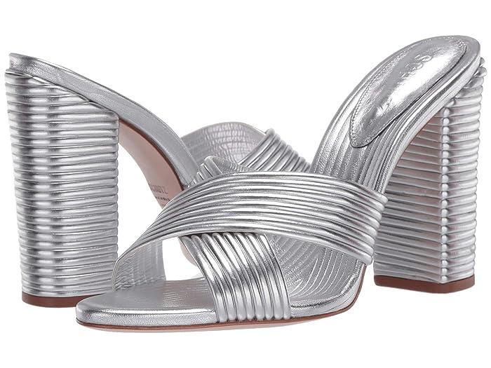 Vintage Heels, Retro Heels, Pumps, Shoes Schutz Emma Dale Prata Womens Shoes $102.31 AT vintagedancer.com