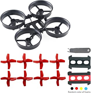 Crazepony Mini Quadcopter Frame Kit with Props Removal Tool for Tiny Whoop Eachine E010 JJRC H36 Quadcopter