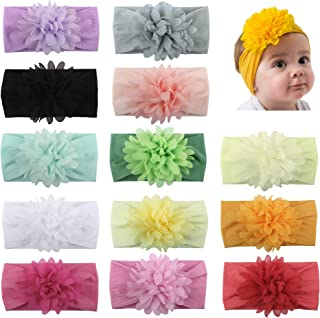 WZT Baby New born Dots Hair band Head band Stripe Candy Color Toddler and Childrens