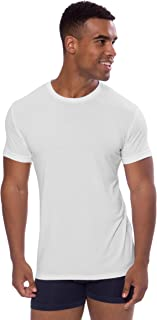 Texere Crew Neck Undershirt for Men - Luxury Shirt in Bamboo Viscose (Dexx)