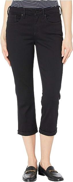 Chloe Capri Jeans in Black