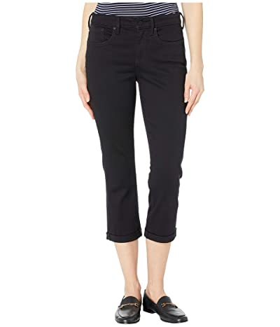 NYDJ Chloe Capri Jeans in Black (Black) Women