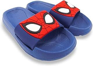 Marvel Spider-Man Boys Toddler Blue Slipper Slide Sandal