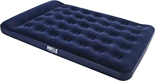Bestway 67225 Double Easy Inflate Air Bed, Blue 1.91m x 1.37m x 28cm