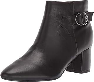 Bandolino Footwear Women's LINAH Ankle Boot, Coffee, 5 M US