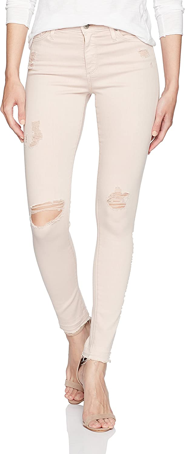 AG Adriano goldschmied Womens The Farrah Skinny Ankle Let Down Hem Jeans