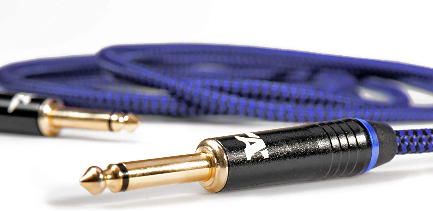 Blue Dragon Instrument Max 45% OFF Cable - for Electric and Guitar Los Angeles Mall Noiseless