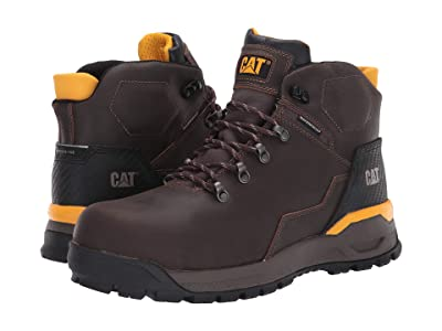 Caterpillar Kinetic Ice+ Waterproof TX Composite Toe (Acorn Full Grain Leather) Men