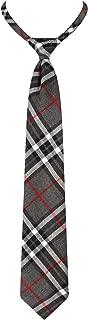 Beautifulfashionlife Unisex Boys Pre-Tied Adjustable Tartan Bow tie or Necktie